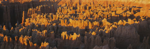 Hoodoos at Sunrise Royalty Free Stock Photos