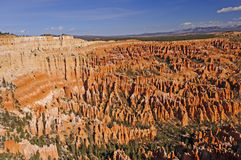 Hoodoos in a Western Canyon Stock Photo