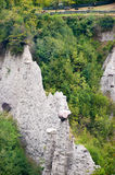 Hoodoos in Zone Italy Royalty Free Stock Image
