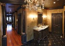 Hoofd badkamers Royalty-vrije Stock Afbeeldingen