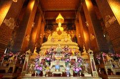 Hoofd Boedha bij Pho tempel, Thailand Royalty-vrije Stock Fotografie