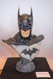 Hoofd de borstmodel van Batman op vertoning Royalty-vrije Stock Afbeeldingen