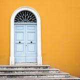 Hoofd deur Royalty-vrije Stock Afbeelding