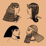 Hoofd Egyptenaren Stock Afbeelding