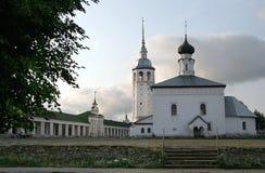 Hoofd gebied van de Gouden Ring van Suzdal Rusland stock fotografie