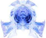 Hoofd geproduceerd fractal van het monster Royalty-vrije Stock Afbeelding