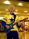 Hoofd Gitarist stock fotografie