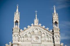Hoofd Kathedraal in Monza Italië Stock Foto