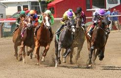 Hoofd op het Rennen Actie Royalty-vrije Stock Afbeelding