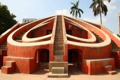 Hoofd Structuur in Jantar Mantar, New Delhi Royalty-vrije Stock Afbeeldingen