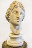 Hoofd van Apollo, museum in Roman Forum, Rome, Italië Stock Afbeelding