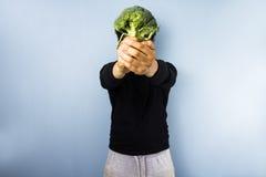 Hoofd van broccoli Stock Fotografie