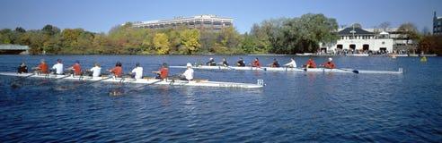 Hoofd van Charles Rowing Festival, stock afbeelding
