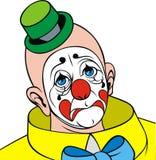 Hoofd van clown vector illustratie