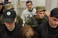 Hoofd van de Azov-Krim Burgerlijke Korpsen Stanislav Krasnov royalty-vrije stock afbeelding