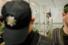 Hoofd van de Azov-Krim Burgerlijke Korpsen Stanislav Krasnov royalty-vrije stock foto's