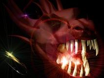Hoofd van de demon royalty-vrije illustratie
