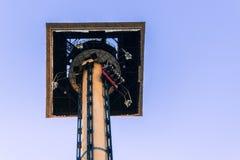 Hoofd van de Hurakan-Condor in de PortAventura-Wereldritten Stock Afbeeldingen