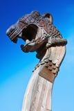 Hoofd van een draak Stock Foto's