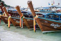 Hoofd van een lange staartboot Royalty-vrije Stock Foto's