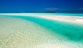 Hoofd van een mooi strand stock afbeeldingen
