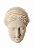 Hoofd van Hera-beeldhouwwerk Royalty-vrije Stock Foto's