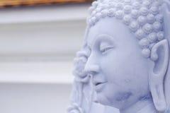 Hoofd van het standbeeld van Boedha Stock Afbeeldingen