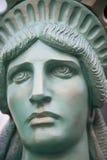 Hoofd van het Standbeeld van Vrijheid stock afbeelding