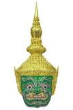 Hoofd van Khon, Koninklijke prestaties van Thailand. Royalty-vrije Stock Foto