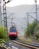 Hoofd van trein Stock Foto's
