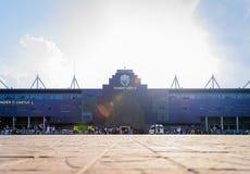 Hoofdartikel: Chang Arena, Buriram, Thailand, 8 Mei 2018 AFC Cha Stock Fotografie
