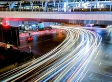 Hoofdartikel: De Stad van Bangkok, Thailand, 24 Januari 2017 Het licht Stock Foto's