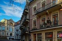 Hoofdartikel: 16 Februari 2019: Baden-Baden, Duitsland royalty-vrije stock afbeelding