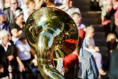 Hoofdartikel, 4 Oktober 2015: Barr, Frankrijk: Fete des Vendanges Royalty-vrije Stock Foto's