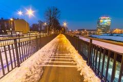 Hoofdbusstation van Gdansk, Polen Stock Afbeelding