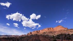 Hoofdertsader NP, Utah Stock Afbeeldingen