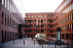 Hoofdforum Frankfurt Stock Afbeeldingen