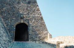 Hoofdingang aan Stari Grad in Ulcinj Royalty-vrije Stock Afbeeldingen