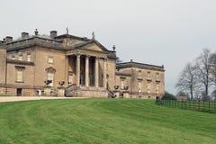 Hoofdingang aan Stourhead-Huis royalty-vrije stock afbeeldingen