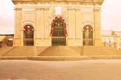 Hoofdingang van de Kathedraal in Enna Sicily Royalty-vrije Stock Afbeelding