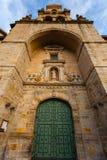 Hoofdingang van de kerk van Heilige Vicente in Bilbao Royalty-vrije Stock Afbeelding