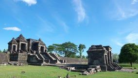 Hoofdingang van het paleis van ratuboko Stock Foto