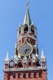 Hoofdklok van Rusland, Moskou het Kremlin, Moskou, Rusland Royalty-vrije Stock Foto