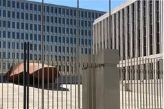 Hoofdkwartier van BND in Berlijn - Duitsland royalty-vrije stock afbeeldingen