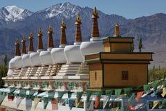 Hoofdkwartier van Dalai Lama in Ladakh royalty-vrije stock foto's