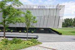 Hoofdkwartier van FIFA in Zürich op Zwitserland Royalty-vrije Stock Foto