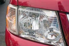Hoofdlicht SUV Royalty-vrije Stock Foto's