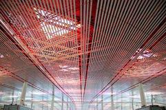 HoofdLuchthaven I van Peking Stock Foto's