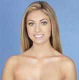 Hoofdschot van het tiener het Blonde Meisje Royalty-vrije Stock Foto
