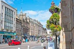 Hoofdstraat, Inverness Stock Afbeelding
